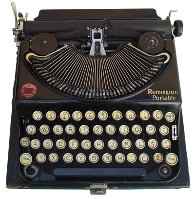 Pisaća mašina Remington Typewriter (model 8??)