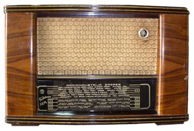 RADIO INDUSTRIJA ZAGREB TUŠKANAC 56/M