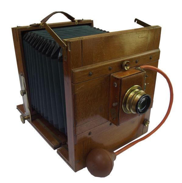 Foto-aparat drveni Chr. Schaller