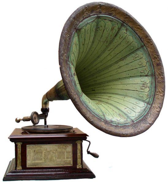 Gramofon s trubom – manji